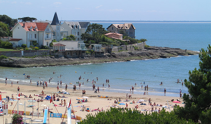 Webcam plage du centre saint palais sur mer destination - Saint palais sur mer office du tourisme ...