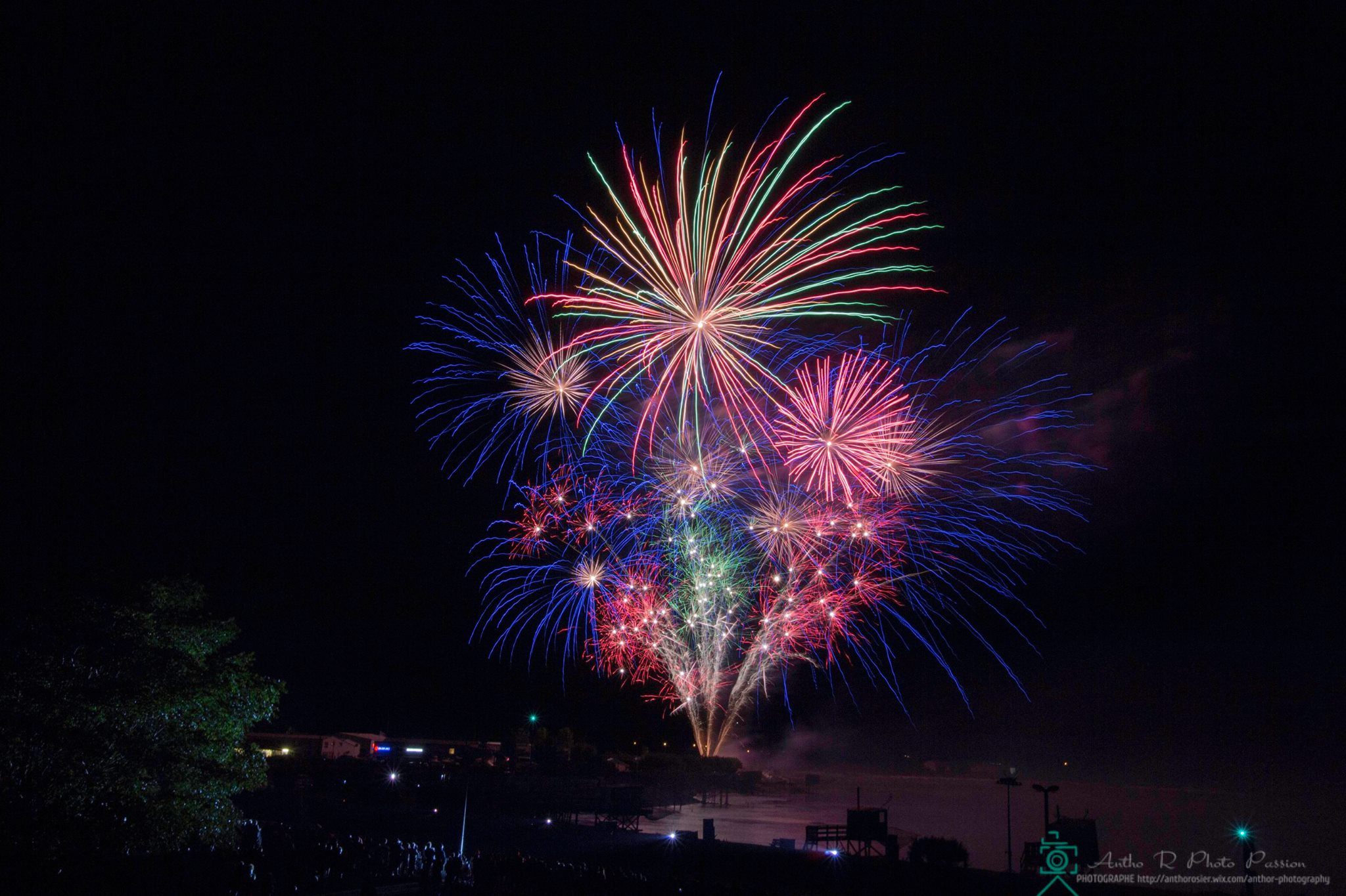 feu artifice meschers sur gironde